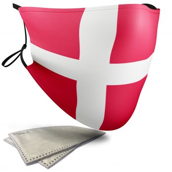 Collection of Flags – Face Masks – 2 Filters Included