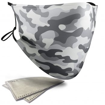 Collection of Camouflage – Face Masks – 2 Filters Included