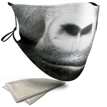 Gorilla Animal Face – Adult Face Masks – 2 Filters Included