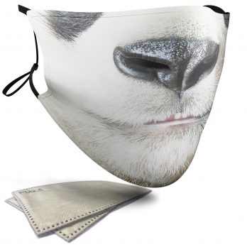 Panda Animal Face – Adult Face Masks – 2 Filters Included