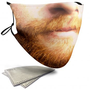 Ginger Beard – Adult Face Masks – 2 Filters Included