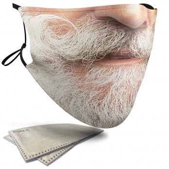 White Beard – Adult Face Masks – 2 Filters Included