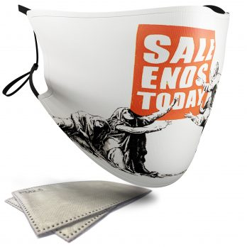 Sale Ends Today – Banksy – Adult Face Masks – 2 Filters Included