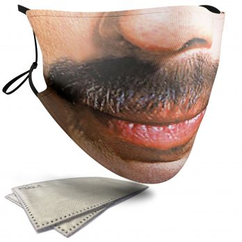 Freddie Mercury Celebrity Face – Adult Face Masks – 2 Filters Included