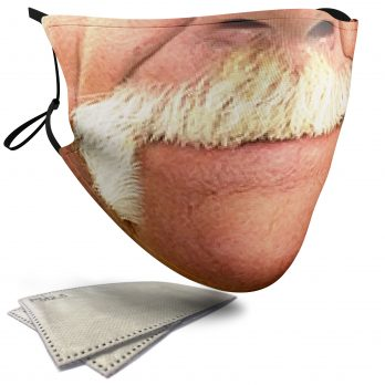 Hulk Hogan Celebrity Face – Adult Face Masks – 2 Filters Included