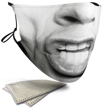 Mick Jagger Celebrity Face – Adult Face Masks – 2 Filters Included
