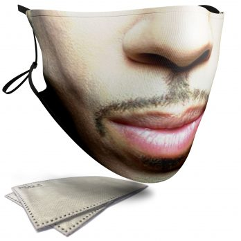 Prince Celebrity Face – Adult Face Masks – 2 Filters Included