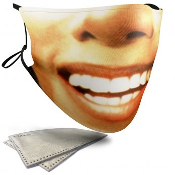 Michael Jackson Iconic Face – Adult Face Masks – 2 Filters Included