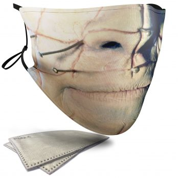 Pinhead Horror Face – Adult Face Masks – 2 Filters Included