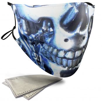 T-800 Horror Face – Adult Face Masks – 2 Filters Included