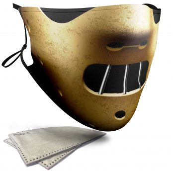 Hannibal Lecter Horror Face – Adult Face Masks – 2 Filters Included
