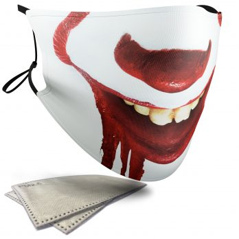 Pennywise Horror Face – Adult Face Masks – 2 Filters Included