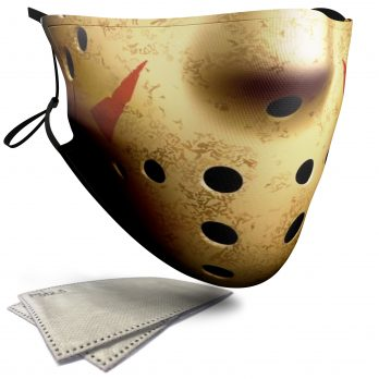 Jason Voorhees Horror Face – Adult Face Masks – 2 Filters Included