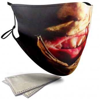 Leatherface Horror Face – Adult Face Masks – 2 Filters Included