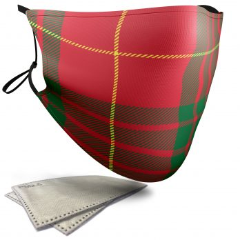 Cameron Tartan – Adult Face Masks – 2 Filters Included