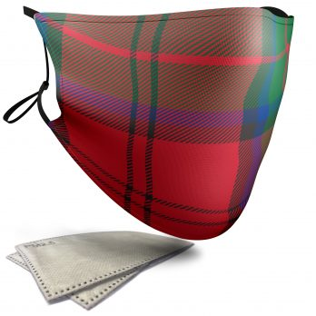 MacDuff Tartan – Adult Face Masks – 2 Filters Included