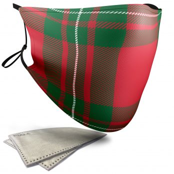 MacGregor Tartan – Adult Face Masks – 2 Filters Included