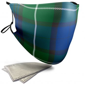 MacKenzie Tartan – Adult Face Masks – 2 Filters Included