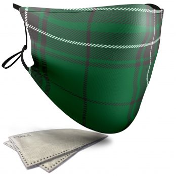 MacLean Tartan – Adult Face Masks – 2 Filters Included