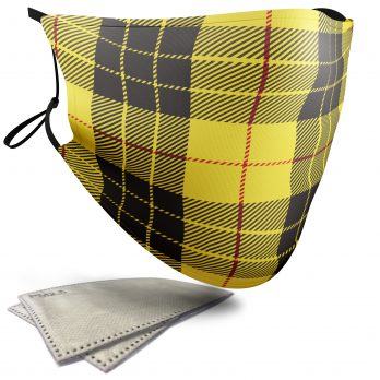 MacLeod Tartan – Adult Face Masks – 2 Filters Included