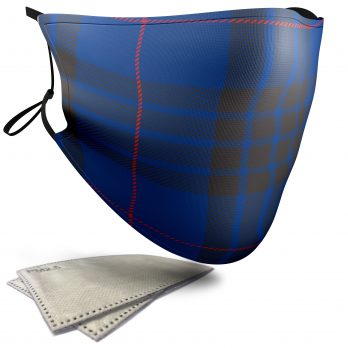 Morgan Tartan – Adult Face Masks – 2 Filters Included