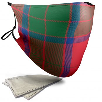 Robertson Tartan – Adult Face Masks – 2 Filters Included