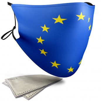 European Union Flag – Adult Face Masks – 2 Filters Included