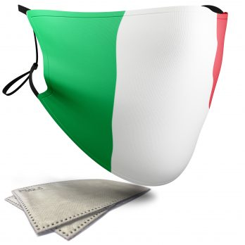 Italy Flag – Adult Face Masks – 2 Filters Included