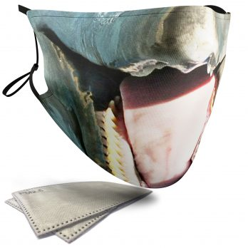 Dolphin Aquatic Animal – Adult Face Masks – 2 Filters Included