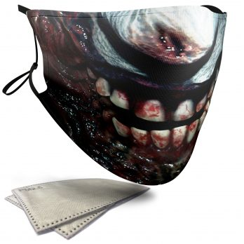 Zombie Skull – Adult Face Masks – 2 Filters Included
