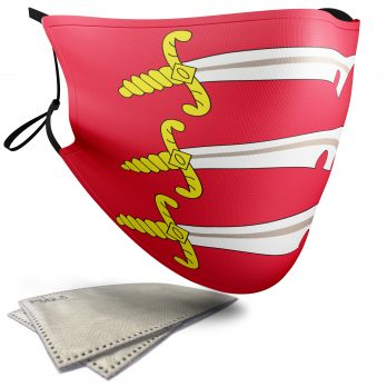 Flag of Essex  – Adult Face Masks – 2 Filters Included