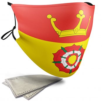 Flag of Hampshire  – Adult Face Masks – 2 Filters Included