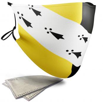 Flag of Norfolk  – Adult Face Masks – 2 Filters Included