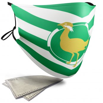 Flag of Wiltshire  – Adult Face Masks – 2 Filters Included