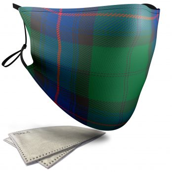 Armstrong Tartan – Child Face Masks – 2 Filters Included