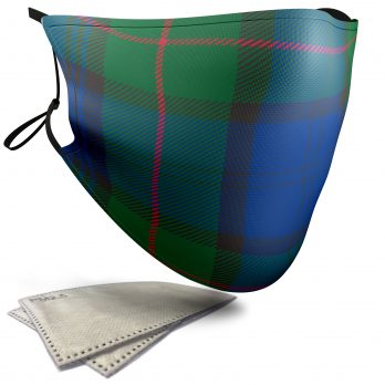 Murray Tartan – Child Face Masks – 2 Filters Included