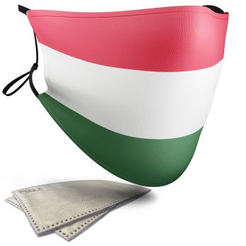 Hungary Flag – Child Face Masks – 2 Filters Included