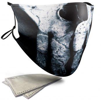 Punisher Skull – Child Face Masks – 2 Filters Included
