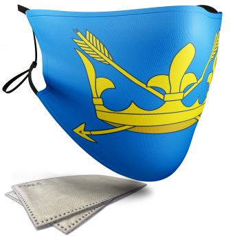Flag of Suffolk  – Child Face Masks – 2 Filters Included