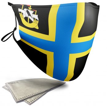 Flag of Caithness  – Child Face Masks – 2 Filters Included