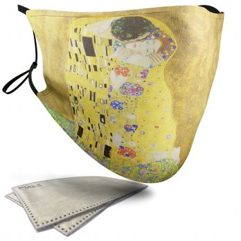 The Kiss Painting – Child Face Masks – 2 Filters Included