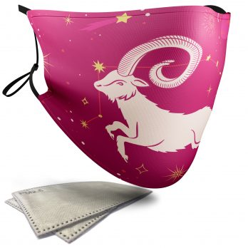 Aries Star Sign – Child Face Masks – 2 Filters Included