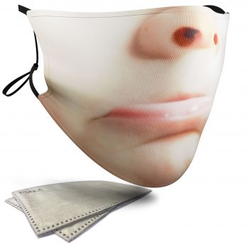 Sad Child's Face – Adult Face Masks – 2 Filters Included