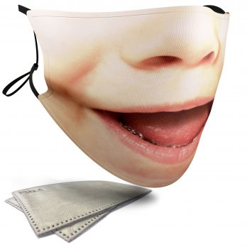 Happy Child's Face – Adult Face Masks – 2 Filters Included