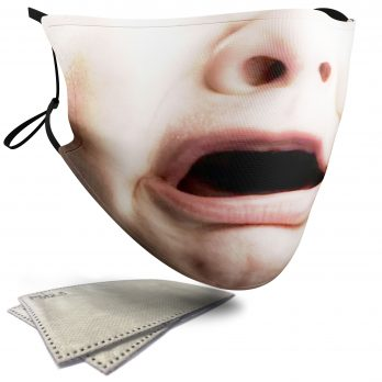 Crying Child's Face – Child Face Masks – 2 Filters Included