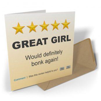 Great Girl Would Definitely Bonk Again!