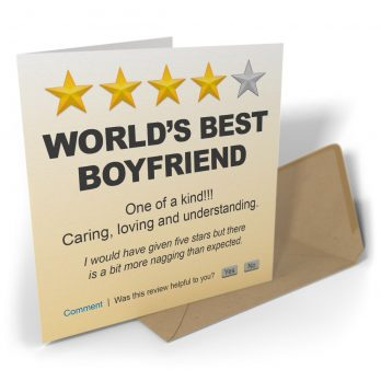 World's Best Boyfriend One Of A Kind!!!