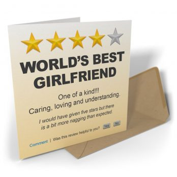 World's Best Girlfriend One Of A Kind!!!