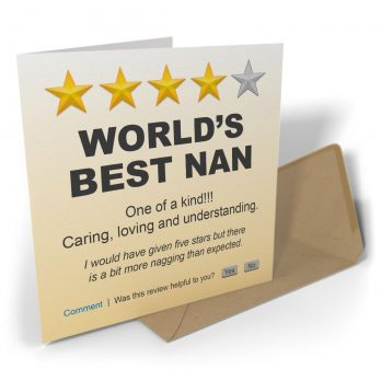 World's Best Nan One Of A Kind!!!
