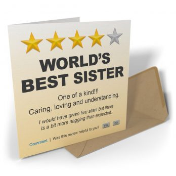 World's Best Sister One Of A Kind!!!